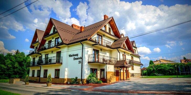 Pohodový rodinný relax v poľských Tatrách s polpenziou a atraktívnymi wellness atrakciami