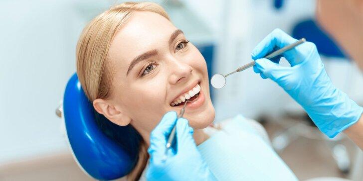 Komplexné vstupné stomatologické vyšetrenie so založením zdravotnej karty