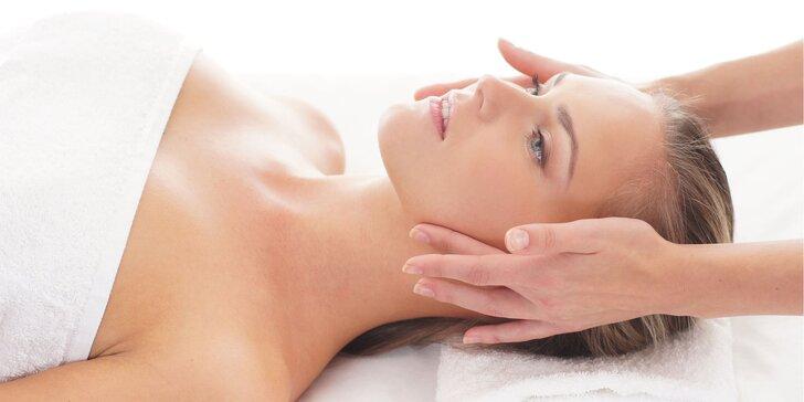 Anti-age ošetrenie pleti, masáž tváre a úprava obočia