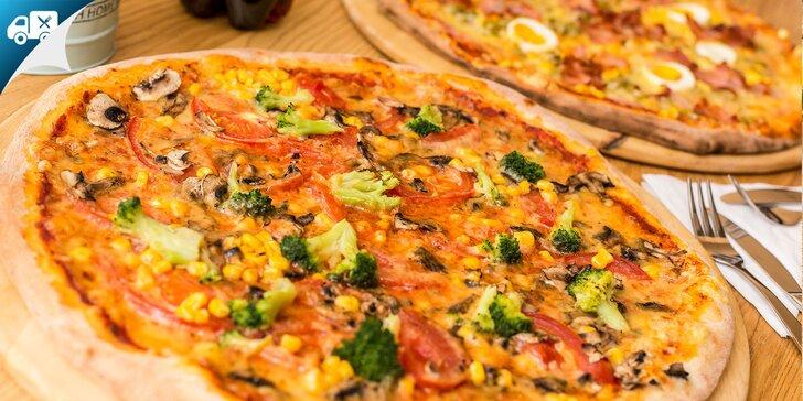 Kilová pizza podľa vlastného výberu U Tiffanyho - na rozvoz!