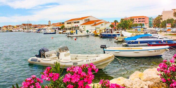 8 dní v Chorvátsku vo Vodiciach v Hoteli Nikola*** s polpenziou, len 200m od pláže