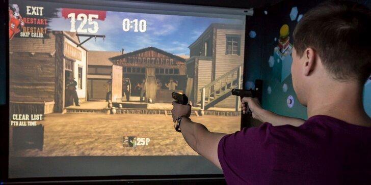 3D strelecký simulátor, ktorý vás prenesie na Divoký západ aj olympiádu