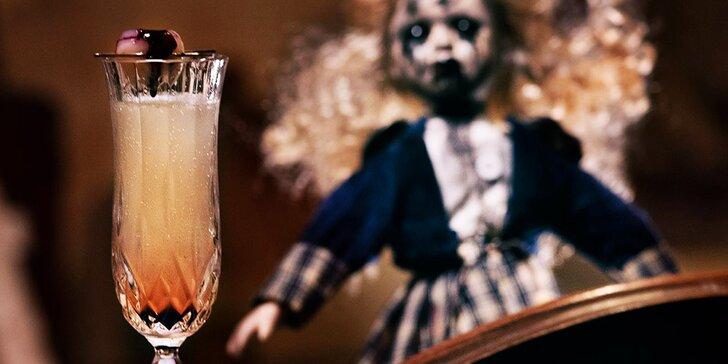 Hororové kokteily vo Fear House: s Proseccom, ginom alebo Stolichnaya Elit