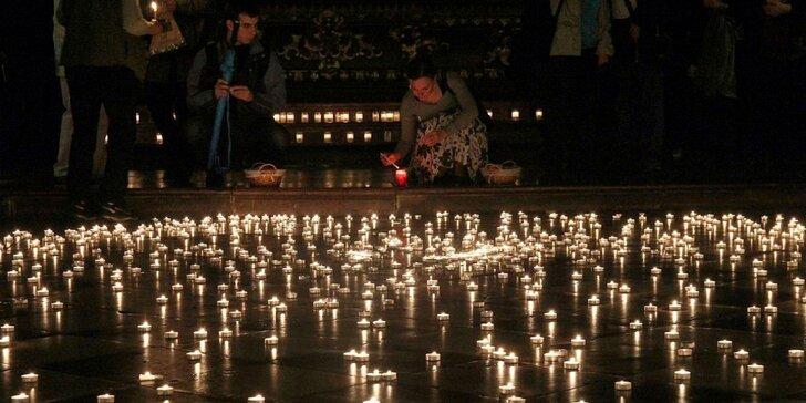 Nočné koncerty pri svite sviečok v nádhernom kostole pri Karlovom moste