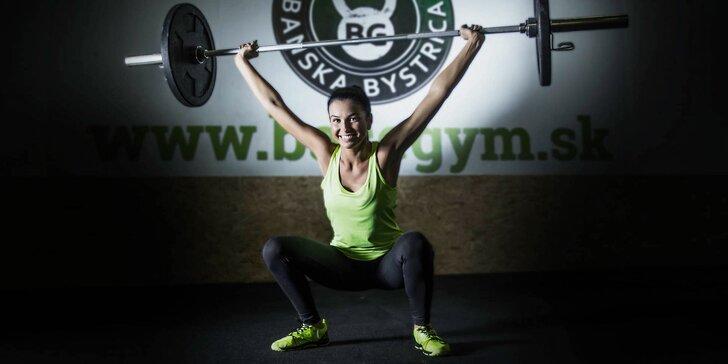 CrossFit pre začiatočníkov v BaseGym - aj súkromné tréningy