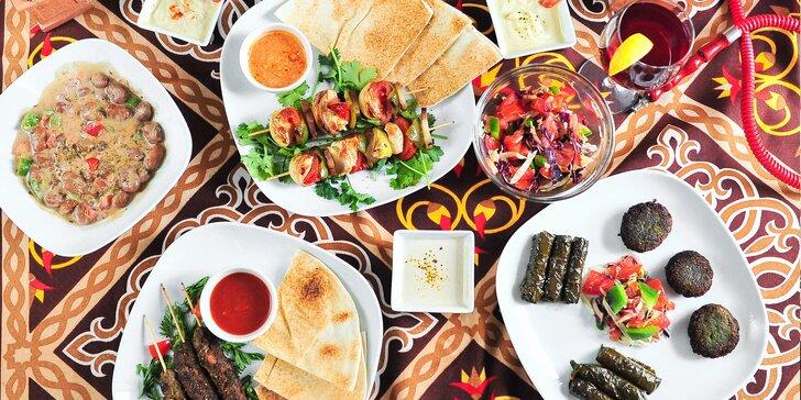 Egyptské degustačné menu v Rugie's bistro pre 2 osoby