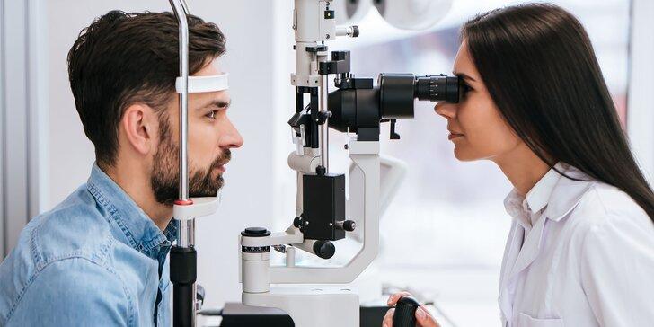 Profesionálne vyšetrenie zraku v Zrakovom centre - Vision Care