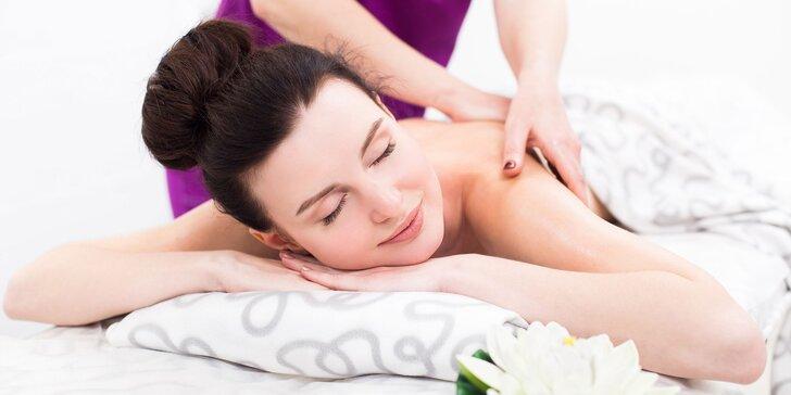 Klasická relaxačná, anticelulitídna alebo vákuová masáž