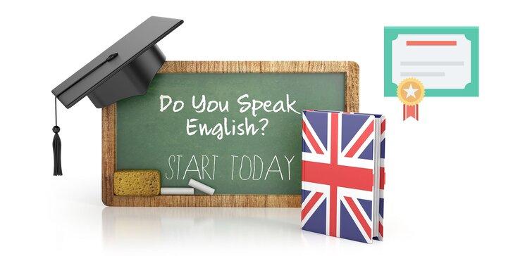 12, 24 alebo 36-mesačné kurzy anglického jazyka s certifikátom