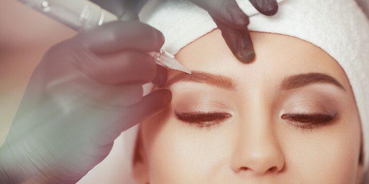 Permanentný make up obočia alebo 4D mihalnice Goldlashes