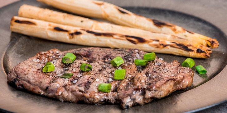 Grilované prémiové uruguay steaky
