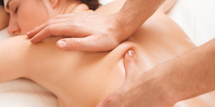 Klasická relaxačná masáž aj s možnosťou bankovania
