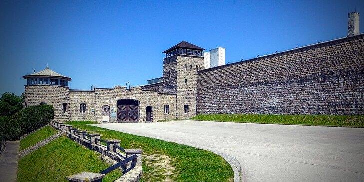 Prehliadka koncentračného tábora Mauthausen - pamätníky 2. svetovej vojny