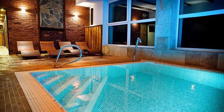 Odpočinkový 3 až 4-denný pobyt v Jeseníkoch: wellness, slaný bazén a polpenzia