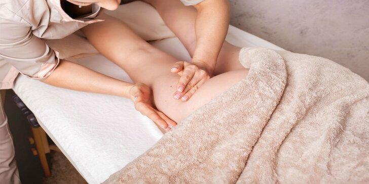 Anticelulitídna masáž s pomarančovo-škoricovým olejom