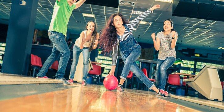 1 hodina zábavy na bowlingu pre celú rodinu i partiu