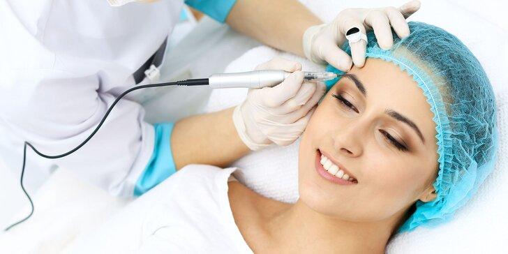 Permanentný make-up obočia mikropigmentáciou, (nano)čiarkovaním, púdrovaním