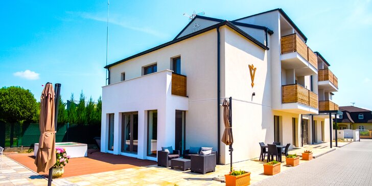 Objavte oddych v novom modernom prostredí penziónu Villa La Via***