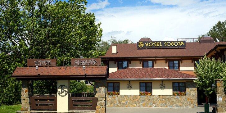 Obľúbený pobyt v Hoteli Sobota so vstupmi na vyhľadávaný Chodník korunami stromov