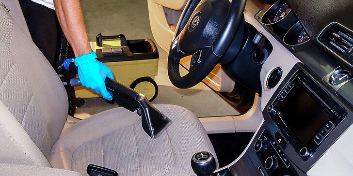 Kompletná údržba vozidla - tepovanie, dezinfekcia a čistenie. Sedadlá suché do 90 minút!