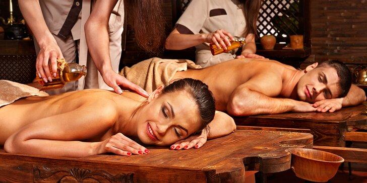 Párová relaxačná masáž podľa výberu s detoxikačným nápojom