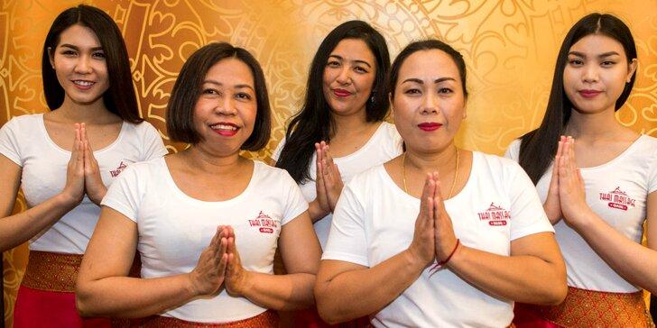 Nefalšovaná thajská masáž s priaznivo pôsobiacimi olejmi