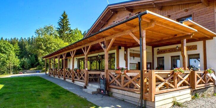 Pobyt s wellness a aktivitami na hrebeni Beskýd v horskom Hoteli Martiňák***