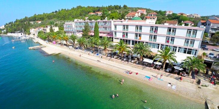 All inclusive dovolenka na obľúbenom ostrove Korčula - Hotel Posejdon