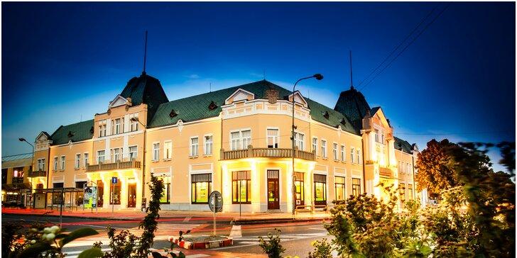Výnimočný pobyt s polpenziou a wellness v historickom hoteli Lev