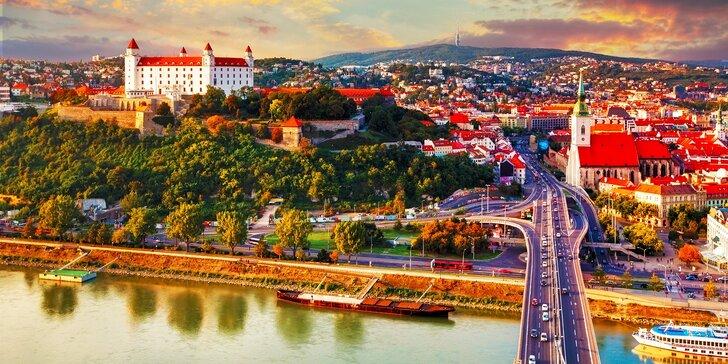 Pobyt v Hoteli Modena*** Bratislava s raňajkami a súkromným wellness