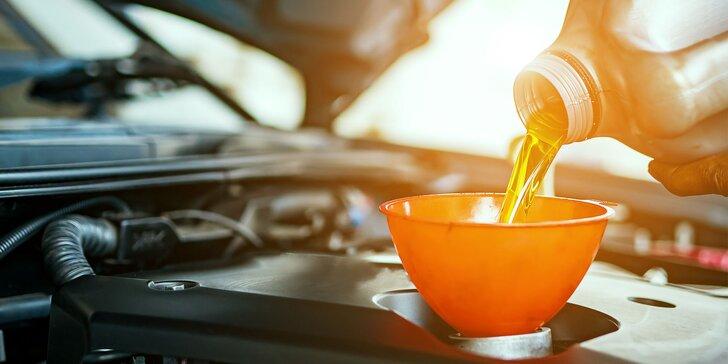 Kompletná prehliadka auta a výmena oleja v Stupave