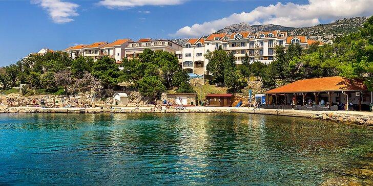 Osviežujúca dovolenka v chorvátskom mestečku Karlobag