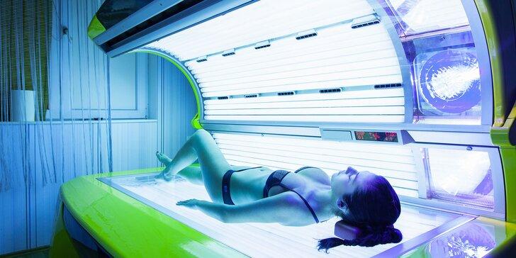 Novootvorené solárium s vibračnou plošinou a Collagenovou terapiou