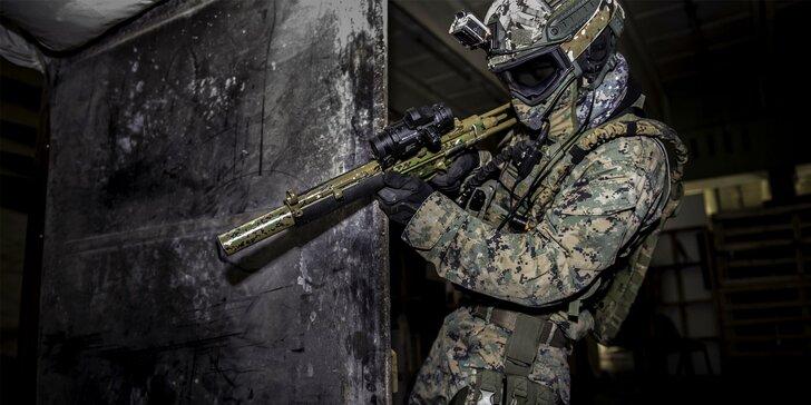 Jedinečná strelecká aréna v štýle cvičiska FBI