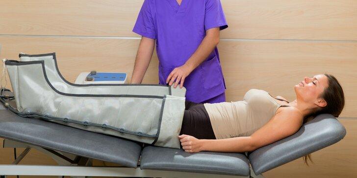 Prístrojová lymfodrenáž či masáže tela