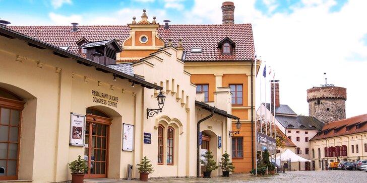 Relax v 4 * hoteli v historickom centre Tábora s wellness a skvelou polpenziou