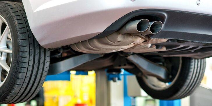 Profesionálne strojové čistenie dieselových filtrov a katalyzátorov