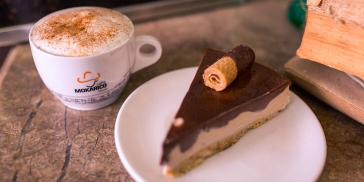 Talianska káva a domáce chutné koláče v Alte Double Star