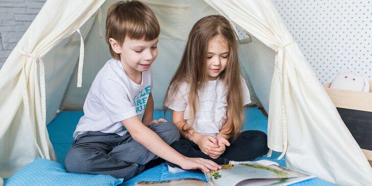1 alebo 5 dní v dennom detskom tábore Retro Kids