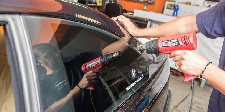 Autofólie na okná pre vaše auto v SIXCAR-autofólie