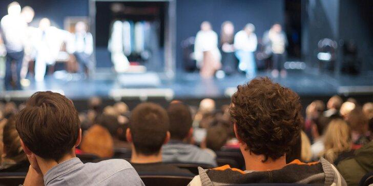 Vstupenka na jedno z 5 divadelných predstavení v Zichyho paláci