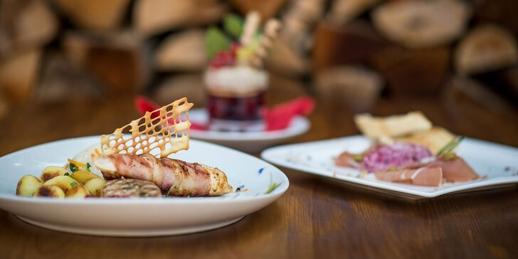 4-chodová romantická večera v Restaurant u Septima