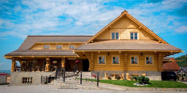 Leto pri Oravskej Priehrade v novom Penzióne Koliba*** s Wellness & Spa a vychýrenou kuchyňou