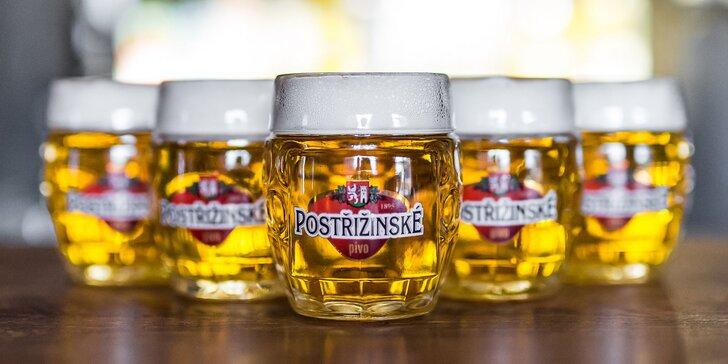 Nechajte si načapovať polliter kvalitného piva - na výber z 2 druhov!