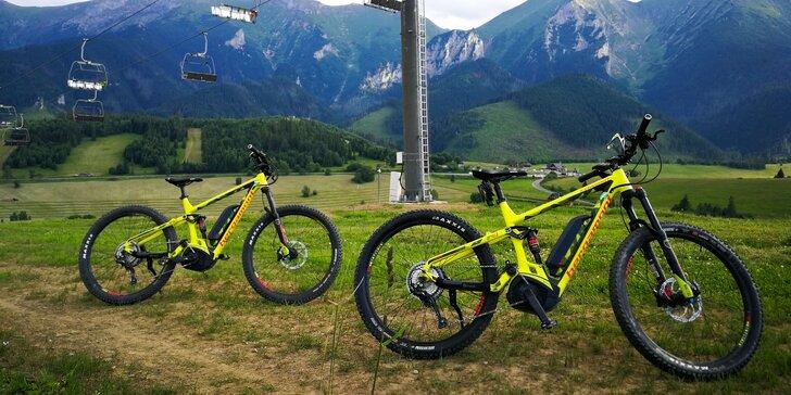 Požičajte si E-bike a objavujte Tatry bez veľkej námahy!