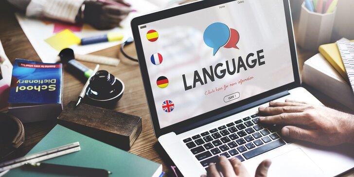 Online kurzy angličtiny, francúzštiny, nemčiny či španielčiny