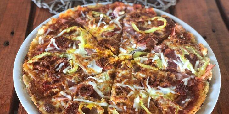 Vychutnajte si vynikajúcu pizzu, dokonca aj bezlepkovú