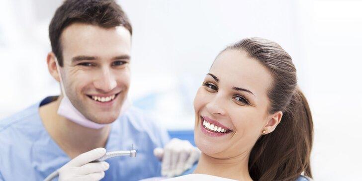 Žiarivý úsmev s dentálnou hygienou