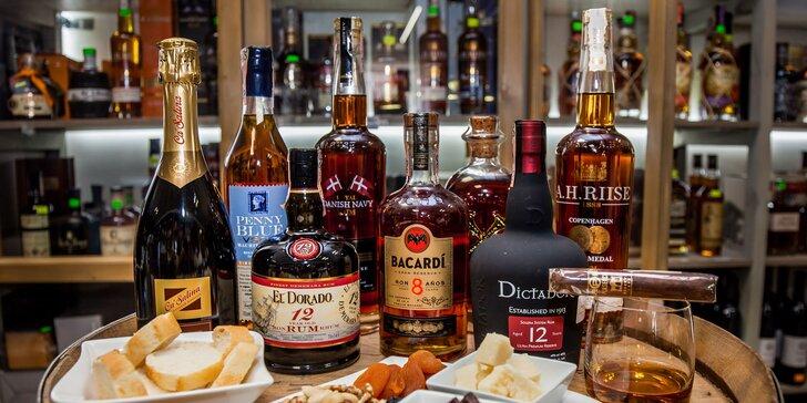 Jedinečná degustácia rumov z rôznych kútov sveta so someliérom v Žiline