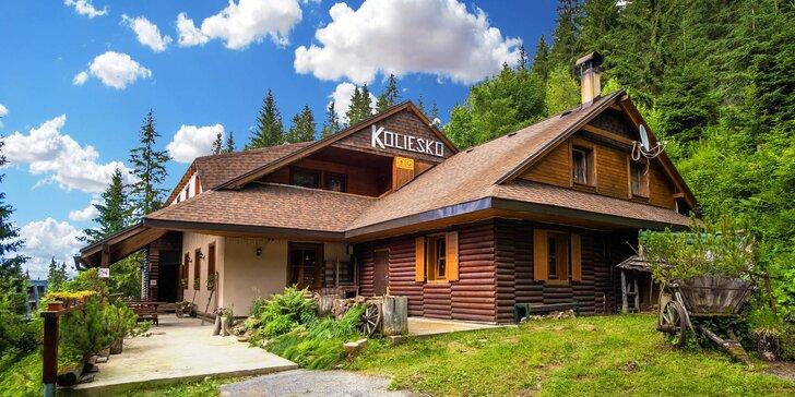 Výnimočný pobyt v prekrásnej prírode, v najvyššie položenej Horskej Chate Koliesko s bohatou polpenziou